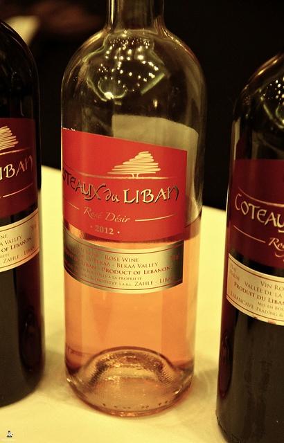 #vin #plaisir par excellence que ce #rosé #désir 2012 #CoteauxduLiban