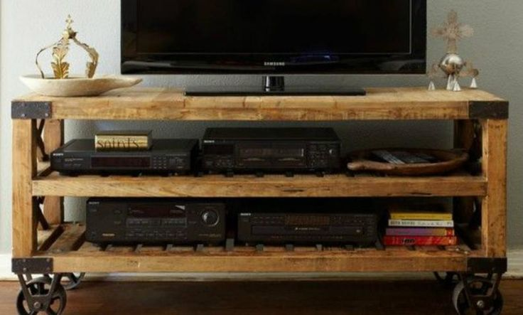 20 best ideas about vintage tv stands on pinterest tv for Como hacer un bar de madera