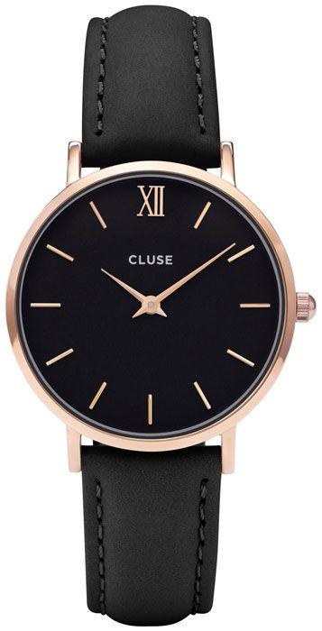Cluse CL30022 Rose Gold Black / Black Minuit versandkostenfrei, 100 Tage Rückgabe, Tiefpreisgarantie, nur 89,95 EUR bei Uhren4You.de bestellen