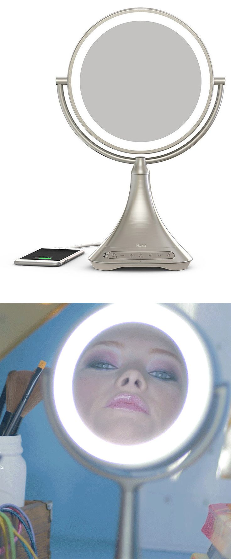 Vanity With Lights And Bluetooth : 25+ best ideas about Mirrors With Bluetooth Speakers on Pinterest Bluetooth water speakers ...
