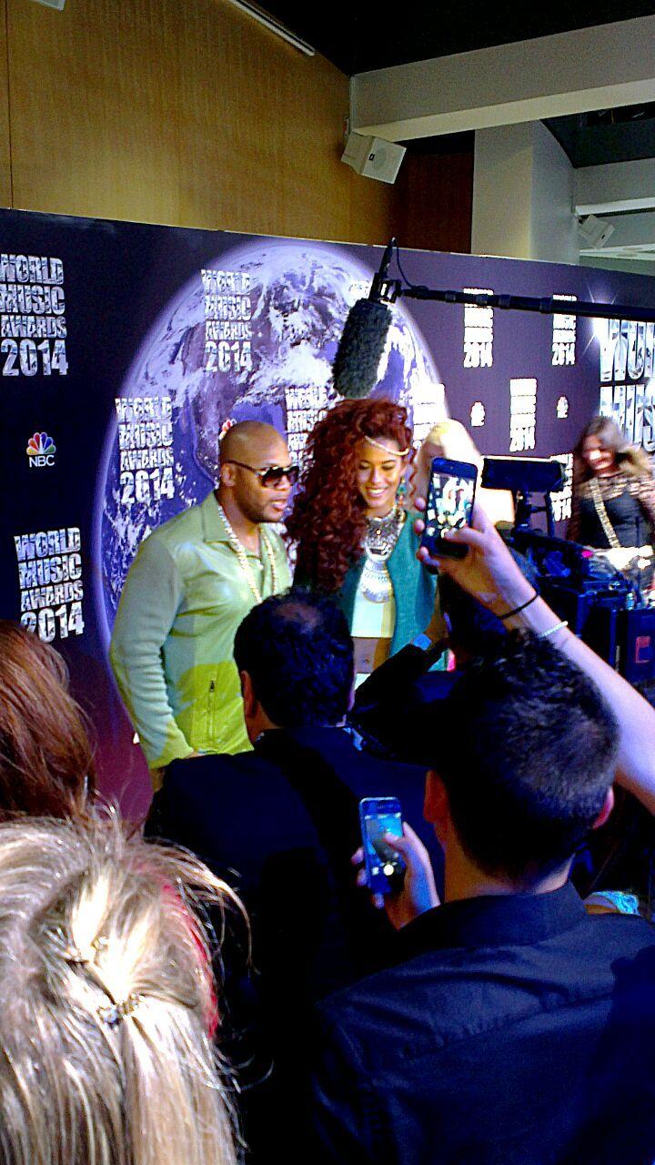Gianni e Fabio Acconciature hanno seguito il grande evento del World Music Awards, dove grandi artisti della musica hanno ritirato l' Oscar e dove  importanti ospiti erano presenti alla premiazione.