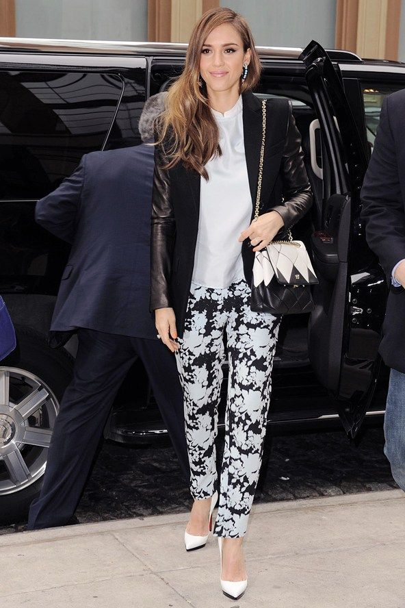 Jessica Alba. Whether she's rocking full-on glamour or off-duty boho cool, Jess styles it out perfectly.