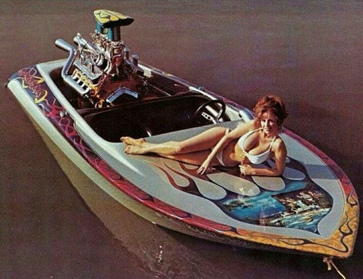Jet boat hey days in the 70-80's