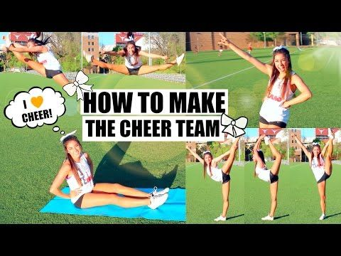 How To Make the Cheer Team - Tips & Advice! - YouTube