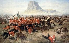 Date: 2 September, 1879  In mid-January 1879 Lt-Gen. Lord Chelmsford invaded Zululand with three columns of British troops, starting the war that ended Zulu independence. After the initial crushing defeat of the British at Isandlwana and the Britains' heroic defence of Rorke's Drift, the tide turned against the Zulus. Ulundi, the capital of Zulu Chief Cetshwayo(Cetewayo) was burnt down and his impis (Zulu soldiers) were defeated.