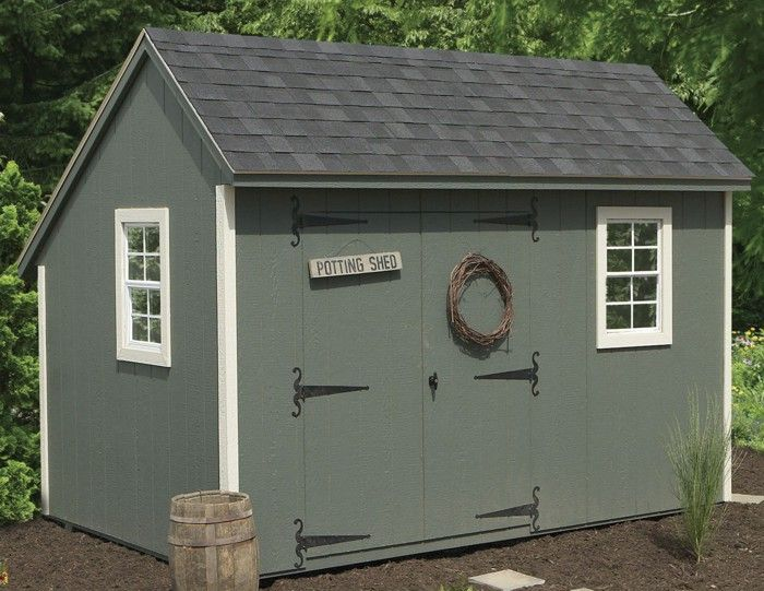 our saltbox style storage sheds bring a touch of old new england to your