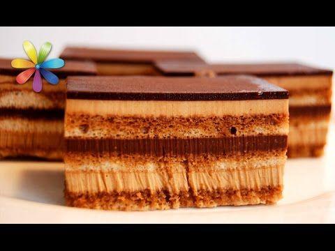 Неделя знаменитых тортов со всего мира: торт Опера! – Все буде добре. Выпуск 727 от 23.12.15 - YouTube