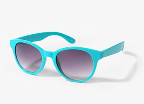 turquoise sunglasses $6 - 10 Hot Neon Accessories: 10 Hot, Neon Accessories, Hot Neon, Trendy Fashion, Trendy Clothing, Fashion Accessories, Turquois Sunglasses, Neon Tropical, Bright Accessories
