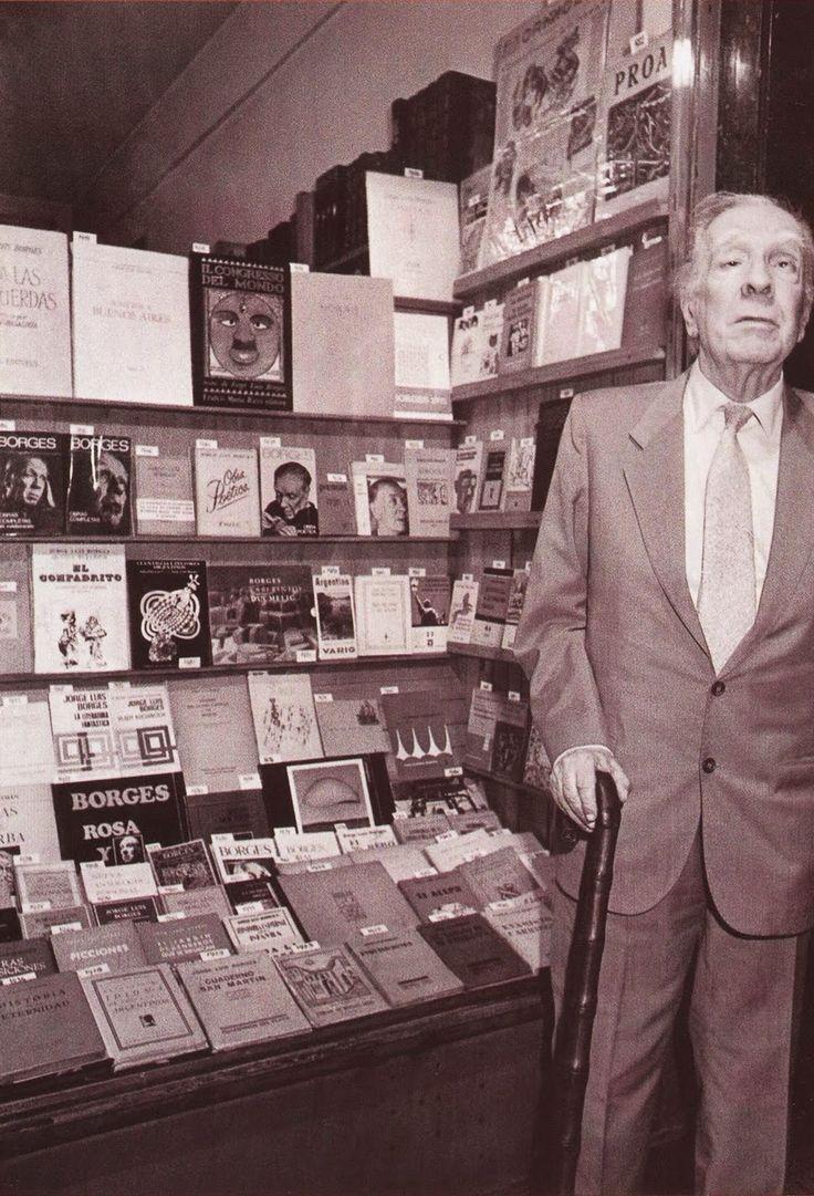 Borges todo el año: Piedras y Chile - http://borgestodoelanio.blogspot.com/2015/04/jorge-luis-borges-piedras-y-chile.html Foto: Jorge Luis Borges por Julio Giustozzi