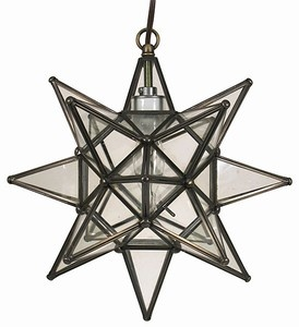 moravian star light inspired by old salem see north carolina - Star Pendant Light