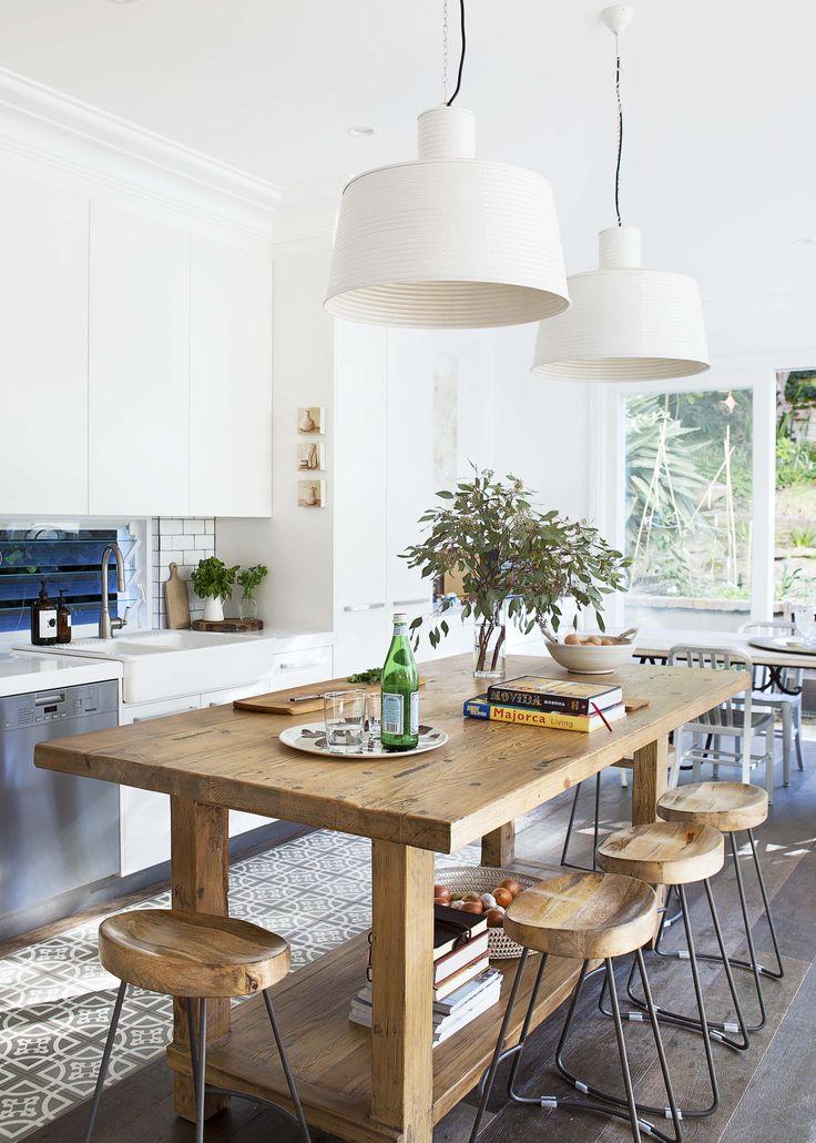 Revamped heritage kitchen