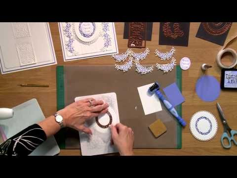 9-24. GARLAND BORDER - Crafting My Style with Sue Wilson
