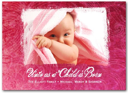 Adorable Christmas Photo Cards to introduce your new baby girl: Baby Powder, Babies, Christmas Photo Cards, Fragrance Oil, Essential Oils, Card Stock, New Baby Girls, Christmas Photos