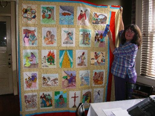 1000 images about Bible Quilts