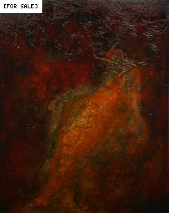 Artist... Don Henderson. Title ... Freedom 1. Acrylic on canvas, 2008, 100cm x 80cm.This painting is a continuation of an investigation into a contemporary account of the ancient crafts of japanning/ laquering