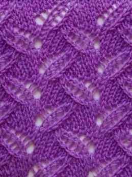 Eyelet Knitting Stitch Pattern