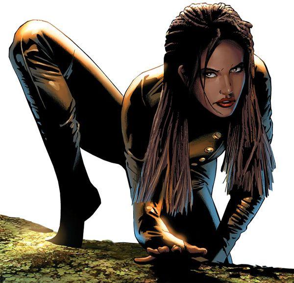 Vixen - DC Comics - JLA - Suicide Squad - Mari McCabe. From our big Vixen profile @ http://www.writeups.org/fiche.php?id=5364 .