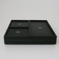 秀衡塗/HIDEHIRA/長方形プレート 黒/角皿 茶托 スクエア|designshop
