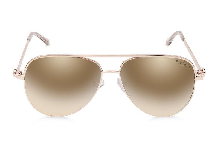 EMPIRE Gold   Oversized Aviator   Skye & Lach Eyewear