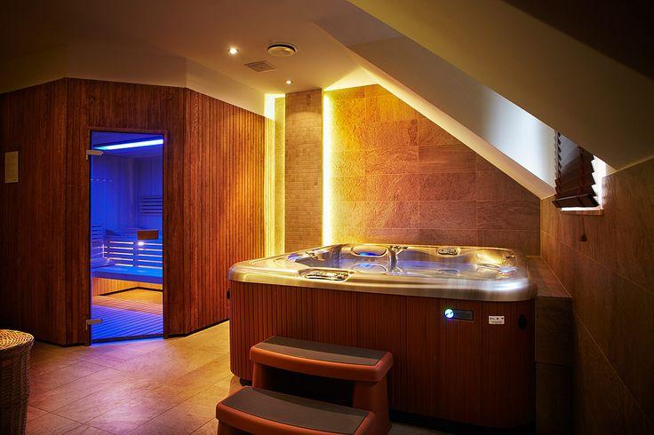 #sauna i #jaquzzi - chwila wytchnienia w hotelowym #spa