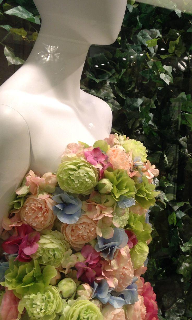 Spring Flower Silk Flower Lady In Fashion 2015