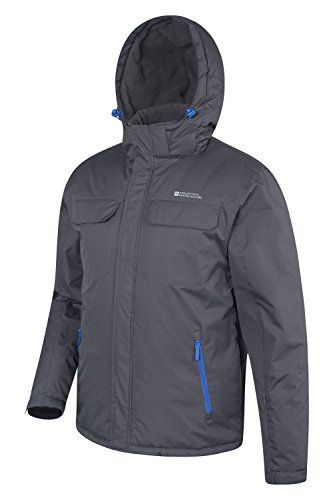 The Eclipse Mens Ski Jacket is ideal for beginners on slopes. Keeping you warm and protected, thanks to snowproof fabric, fleece lining and an integrated snowskirt, while also having lots of practical pockets, including one for your ski pass. Pockets: two zipped front pockets, two chest pockets...