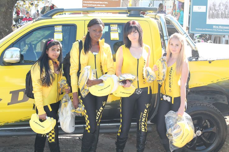The Dunlop promo ladies