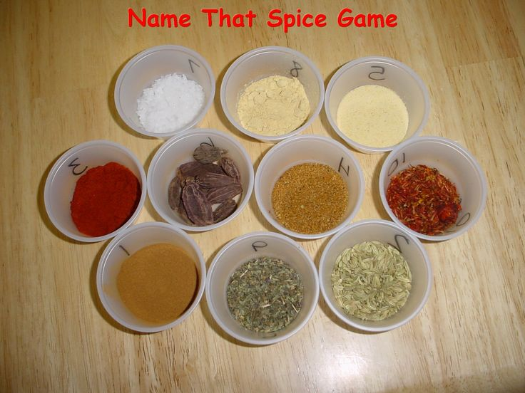 Name that spice game (Plus a bunch of other great ideas for a kitchen themed shower)