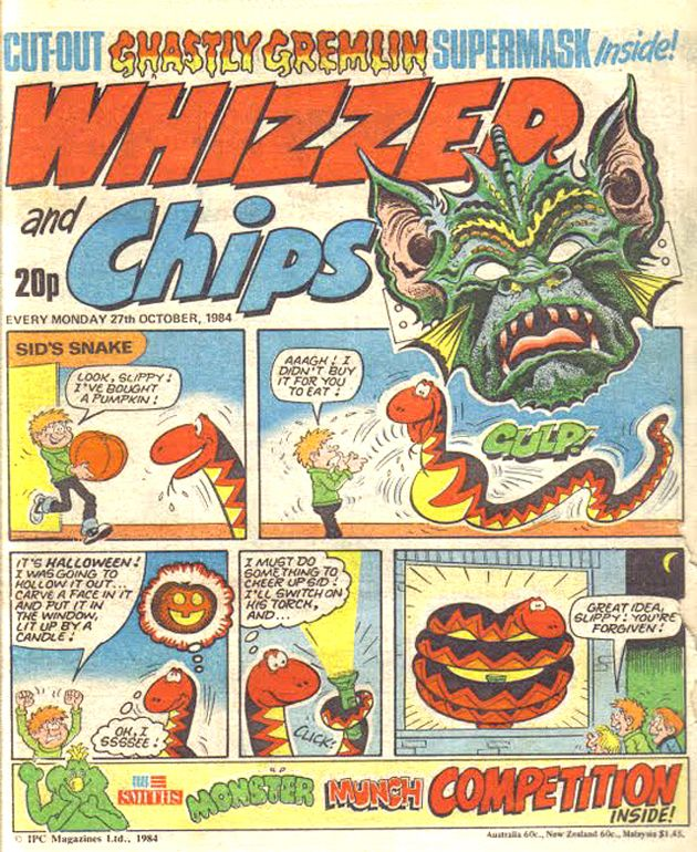 Whizzer and Chips my brother had this, well we shared it ha ha