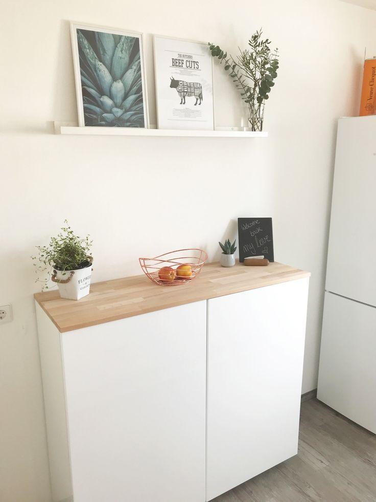 Ikea Hack – Metod wall cabinet as a sideboard part II