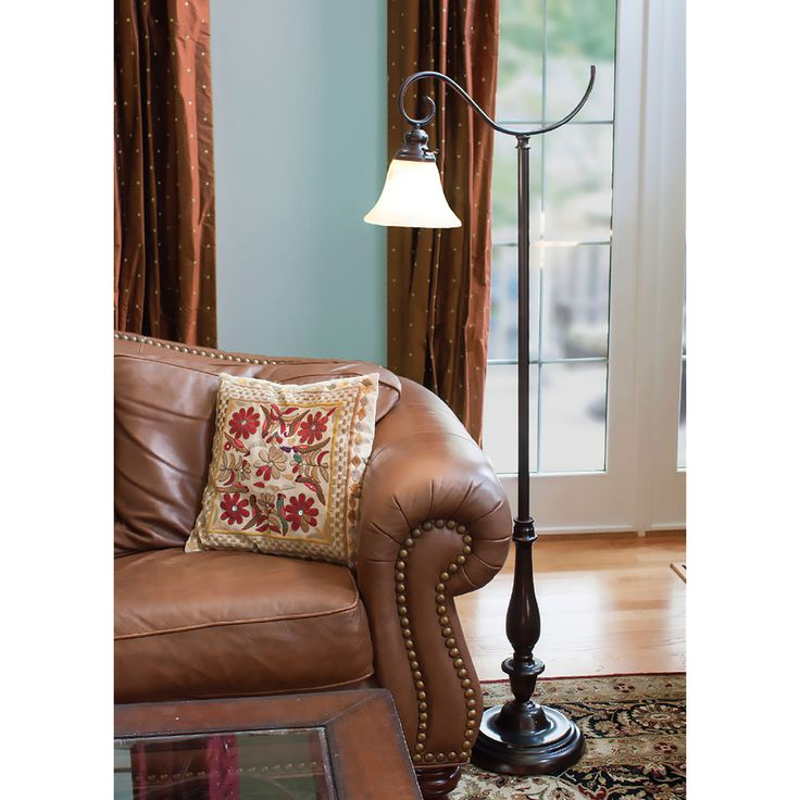 The Lean Flowing Lines Of This Floor Lamp From Woodbine Collection Are An Eye Catching Way To Brighten Your Favorite Reading