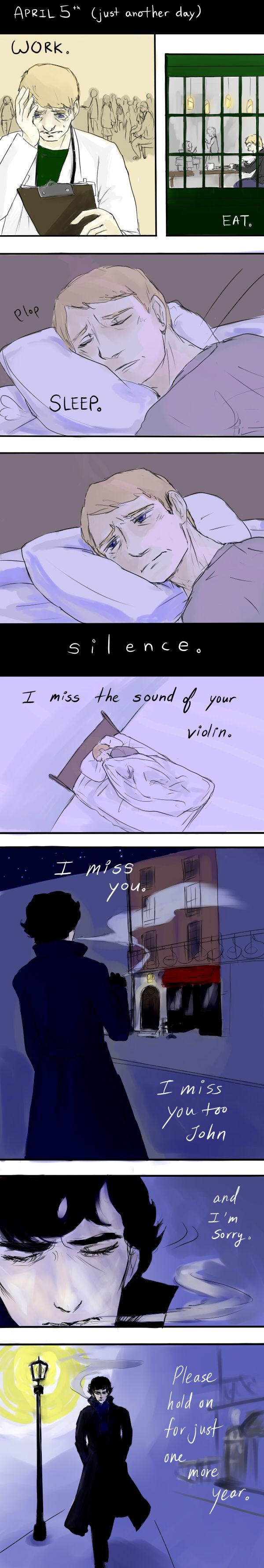 Sherlock: Just another day/One more year by krusca.deviantart.com on @deviantART