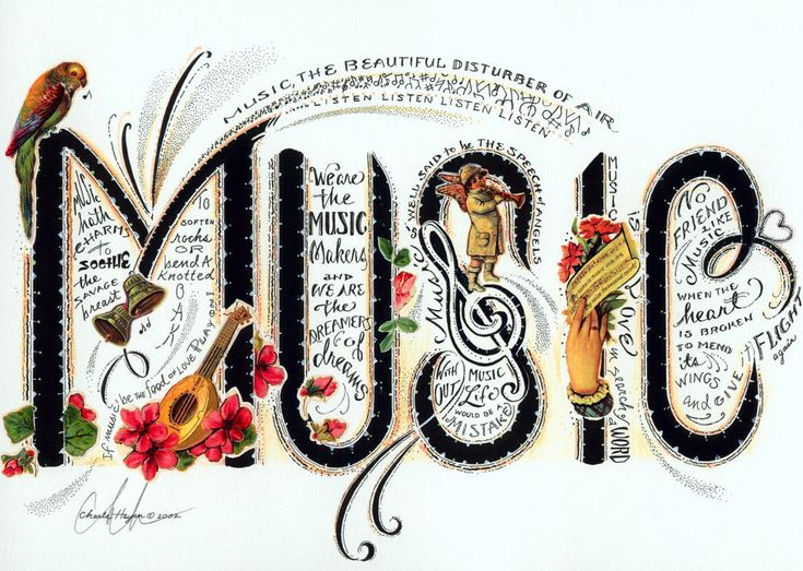 Music, the beautiful disturber of air