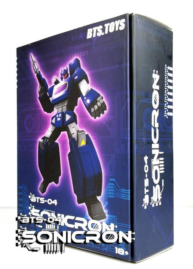 BTS-04 Sonicron Figureby Best Toys #transformer