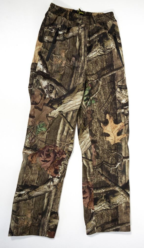 10X Boy's Youth Lined Hunting Pants Child sz 10/12 Camo Camouflage Softshell  #10X