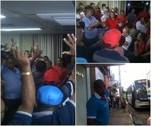 G.H.: Motoristas aceitam proposta e greve em THE acaba: ...