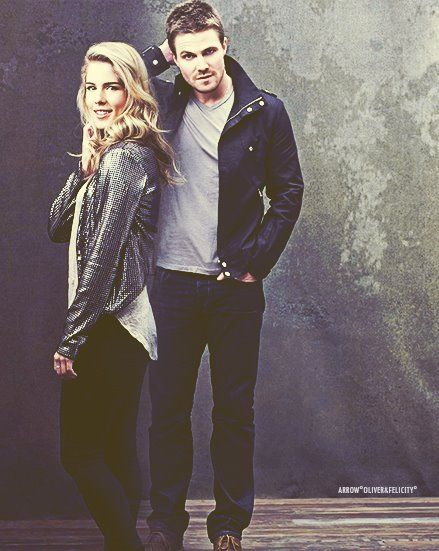 Emily Bett Rickards & Stephen Amell they are awesome and I ship them in Arrow so why would I not want to meet them.