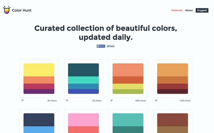 25 Best Ideas About Palette Generator On Pinterest