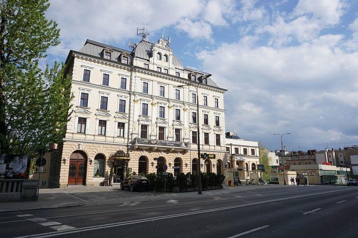 Hotel President from the late XIX century in Bielsko-Biala, Poland