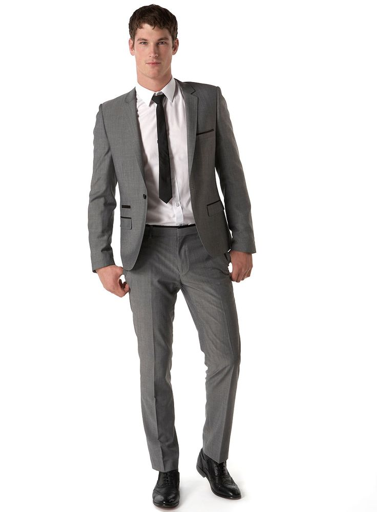 Another cool grey suit | Wedding suits | Pinterest | Grey Suits
