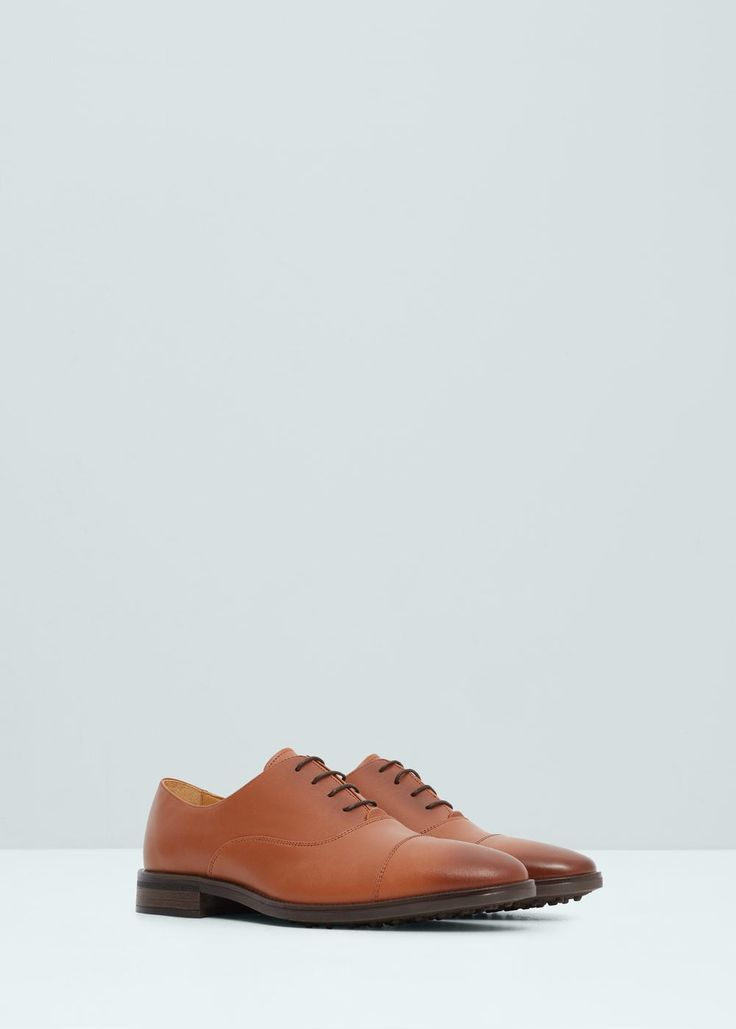 Кожаные туфли оксфорды - Обувь - Мужская | OUTLET Россия (Российская Федерация)
