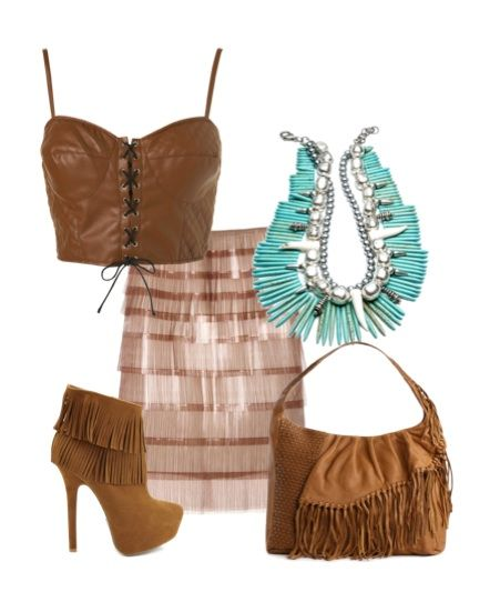 Pocahontas inspired outfit