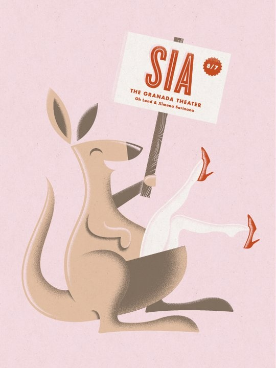 Sia | Oh Land | Ximena Sarinana - 8/7/11 (by Aaron Eiland)