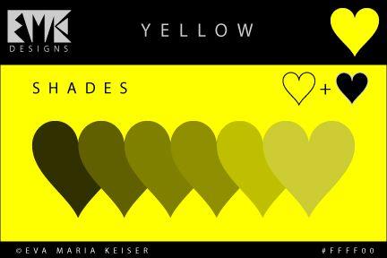 "Eva Maria Keiser Designs: Explore Color:  Shades of ""Yellow"""