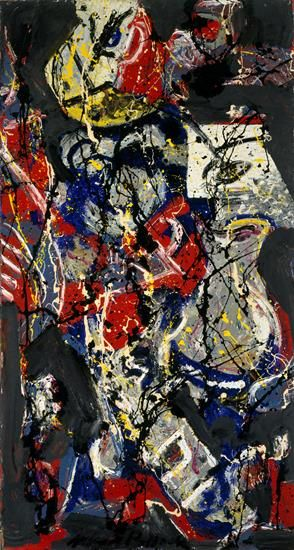 Jackson Pollock Moon Vessel c1945 jr MFAH | The Museum of Fine Arts, Houston