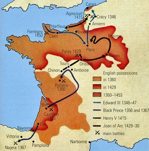 an analysis of the hundred years war in europe How did the hundred years' war help to end the feudalism system.