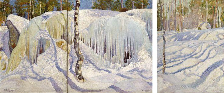 Kulttuuriblogi Wannabe-mesenaatti: Tuusulanjärven lumoa ja Wardin väriterapiaa