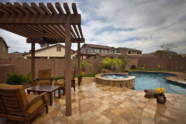 Arizona back yard landscape ideas arizona backyard for Backyard design ideas arizona