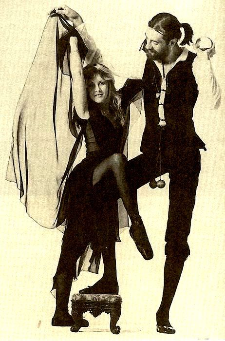 Stevie and Mick Rumours Album Little Known Photo Shots - The Ledge
