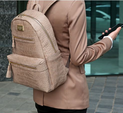 Monopoly+Leather+Backpack+v2... Perfect in this crocodile beige :)